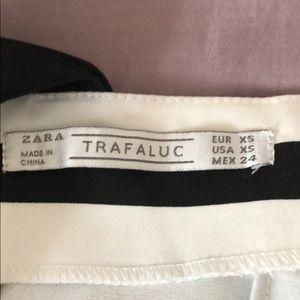 Zara Dresses - Zara black and white striped skort dress